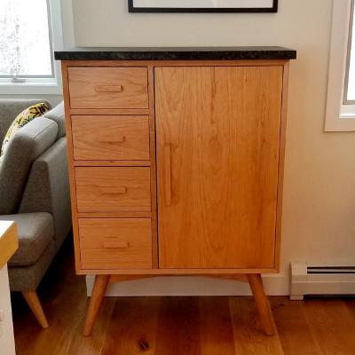 mid century modern hardwood furniture